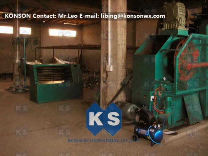 Industrial Gabion Production Line Twist Mesh Welded Machine 80 X 100mm Width 4300mm