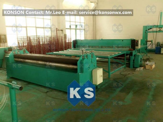 Customized Gabion Production Line Automatic Straightening Cutting Machine