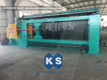 Chiny Heavy Duty Gabion Mesh Machine Net Weaving Machine 80x100mm Netting Width 4300mm dostawca