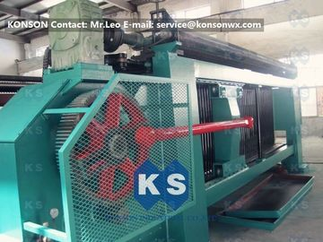 Chiny Industrial Gabion Production Line Twist Mesh Welded Machine 80 X 100mm Width 4300mm dostawca