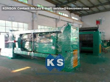 Chiny Galvanized And PVC Coated Hexagonal Wire Netting Machine / Gabion Production Line dostawca
