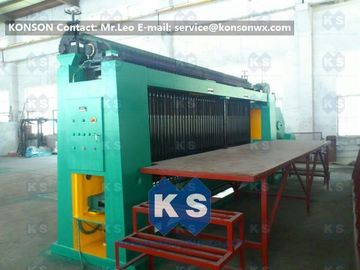 Chiny Custom Double Rack Drive Hexagonal Wire Netting Machine For Water Conservancy dostawca