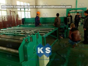 Chiny Customized Gabion Production Line Automatic Straightening Cutting Machine dostawca