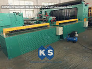 Chiny 5kw Automatic Wrapped Edge Gabion Machine Edge Wrapping Machine 4 Meter fabryka