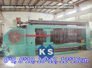 Galvanized / PVC Coated Wire Gabion Box Machine With Wrapped Edge Machine