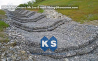 Chiny Water And Soil Erosion Preventing Gabion Boxes With Hexagonal Wire Mesh fabryka