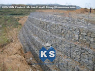 Chiny Galvanized Wire Gabion Retaining Walls Plastic or Stainless Steel Wire PE Coating Gabion Mattress fabryka