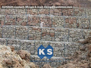 Hexagonal Wire Mesh Gabion Retaining Wall with Polyethylene PE Coated Gabion Wire