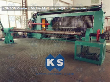 Hexagonal Wire Mesh Machine Woven Wire Mesh Machinery With 95% Aluminium Alloy Wire